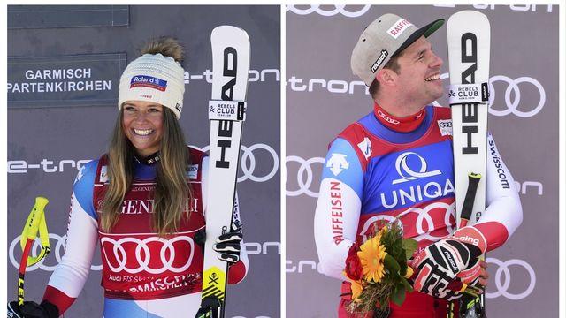 Les mauvaises nouvelles du côté de Cortina font l'affaire des deux Suisses. [Giovanni Auletta/ Marco Tacca]
