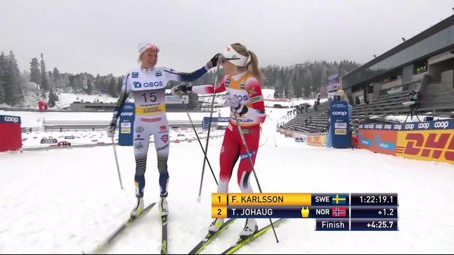 Oslo (NOR), 30 km dames: victoire surprise de Karlsson (SUE), Faehndrich (SUI) termine 10e [RTS]