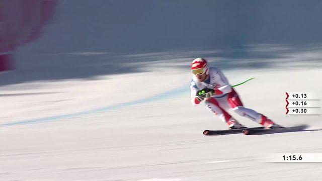 Ski, descente messieurs, Kvitfjell (NOR): Carlo Janka 3e devant Beat Feuz qui termine 4e, victoire de Matthias Mayer (AUT) [RTS]