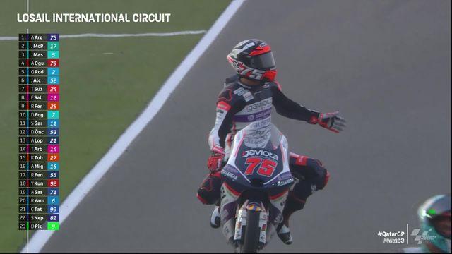 GP du Qatar (#1), Moto3: Albert Arenas (ESP) remporte la 1e course de la saison [RTS]