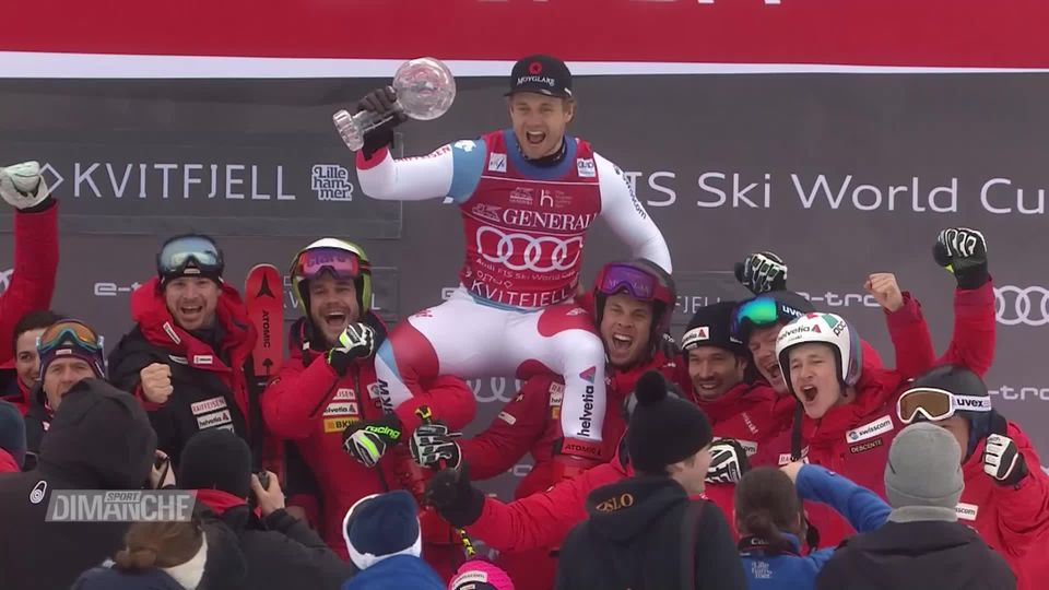 Ski alpin: la Suisse en haut des podiums, les finales de Coupe du monde annulées [RTS]