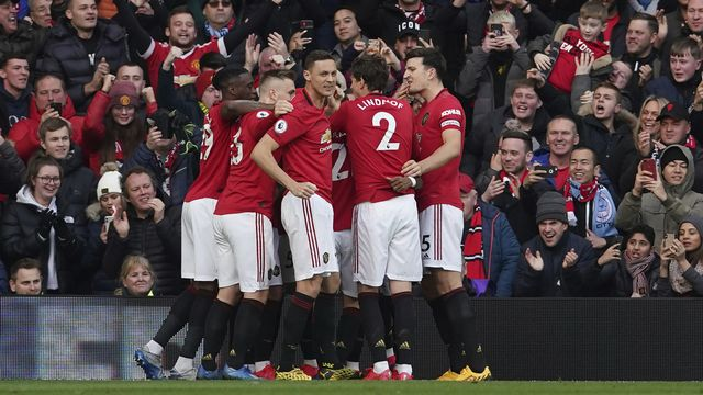 Manchester United remporte un 3e derby cette saison. [AP Photo/Dave Thompson - Keystone]