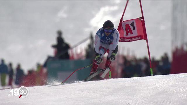 En ski alpin, Mauro Caviezel permet à la Suisse de décrocher son 4e globe de cristal de la saison en vitesse. Retour sur son parcours. [RTS]