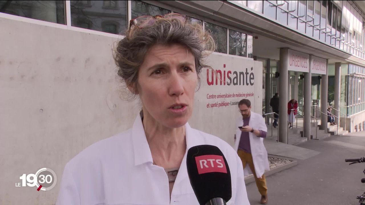 Coronavirus: la Suisse ne teste plus systématiquement les personnes malades, mais se concentre sur celles le plus à risque. [RTS]