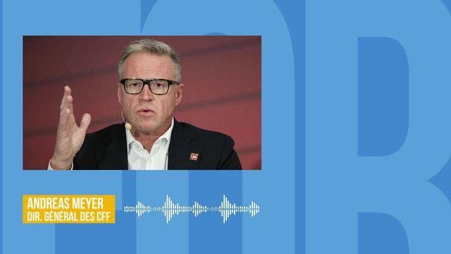 L'impact du coronavirus sur le transport ferroviaire en Suisse: interview d'Andreas Meyer [RTS]