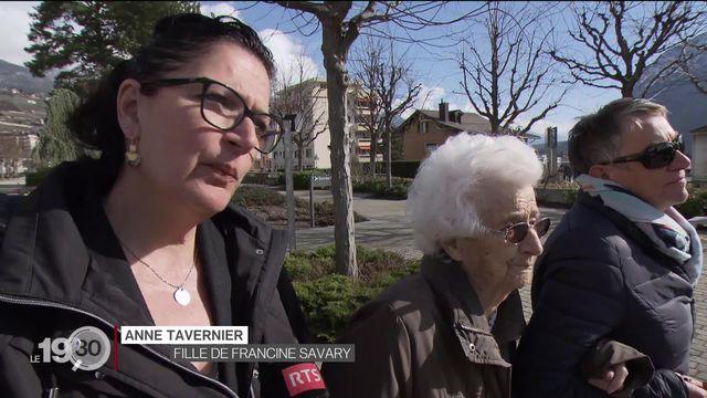 L'entrée des personnes âgées en EMS est une source d'inquiétude pour leurs proches. [RTS]