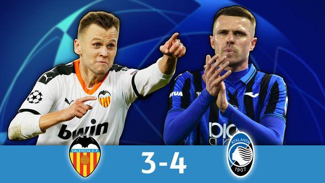1-8e retour, Valence - Atalanta (3-4): résumé de la rencontre [RTS]