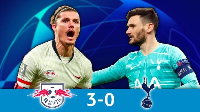 1-8e retour, Leipzig - Tottenham (3-0): résumé de la rencontre