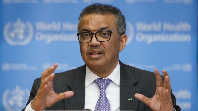 Le direcdteur général de l'OMS Tedros Adhanom Ghebreyesus. [Salvatore Di Nolfi - Keystone]