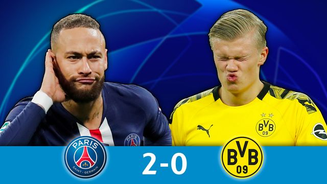 1-8 retour, PSG - B.Dortmund (2-0): le PSG qualifié pour les quarts!