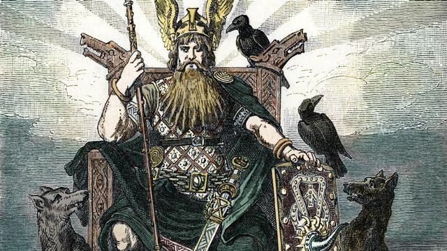 Odin, le Dieu des Dieux dans la mythologie nordique. [The Holbarn Archive / Leemage - AFP]