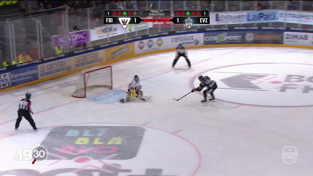 La fin du championnat de hockey met Fribourg-Gottéron en difficulté. [RTS]