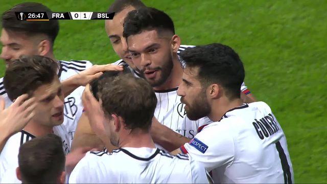 1-8 aller, Eintracht Francfort - Bâle (0-3): les suisses nettement supérieurs [RTS]