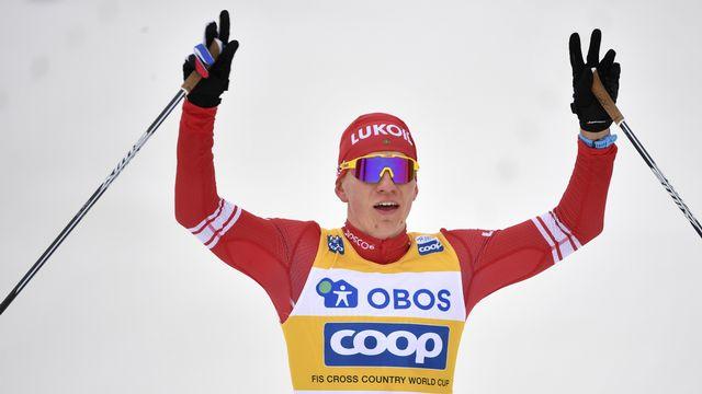 Alexander Bolshunov est le grand vainqueur de la saison 2019-2020. [Henrik Montgomery - Keystone]