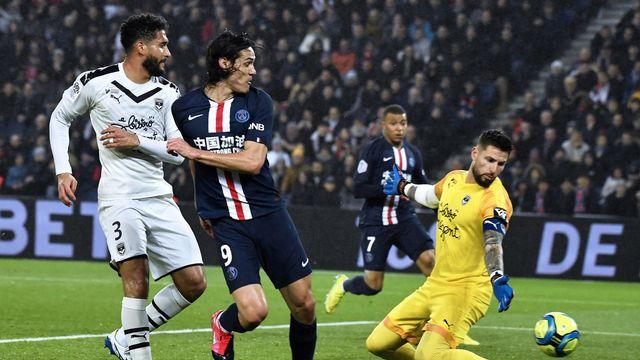 """La Ligue de football professionnel (LFP) a acté la suspension immédiate et """"jusqu'à nouvel ordre"""" de la Ligue 1 et de la Ligue 2. [Julien de Rosa - Keystone]"""