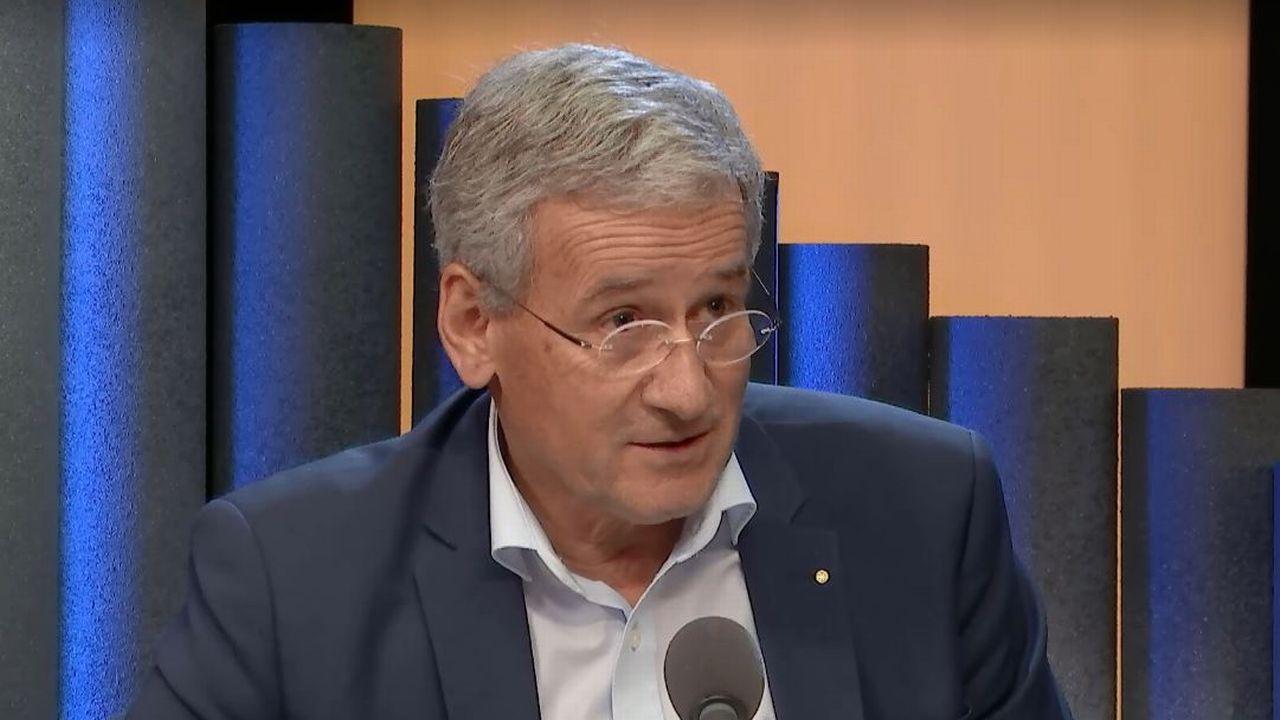 André Berdoz, vice-président de l'Union suisse des arts et métiers. [RTS]