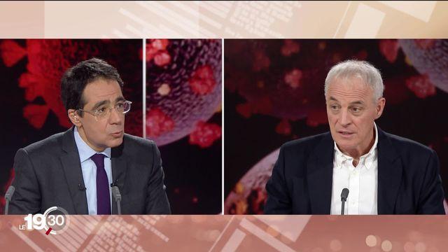 Les explications de Didier Pittet, épidémiologiste aux HUG [RTS]