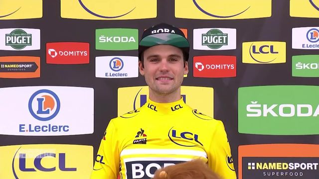 Cyclisme, Paris-Nice (FRA), 7e étape: Schachmann (GER) remporte l'édition 2020 [RTS]