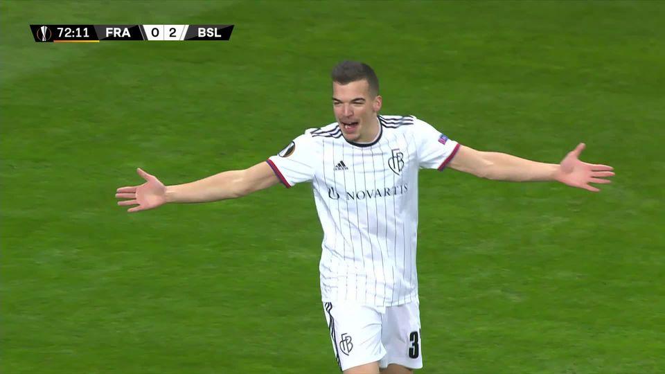 Football, Europa League: 1-8 aller, Eintracht Francfort - Bâle (0-3) [RTS]