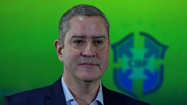 Le président de la Confédération brésilienne de football Rogerio Caboclo. [Thiago Ribeiro - AFP]