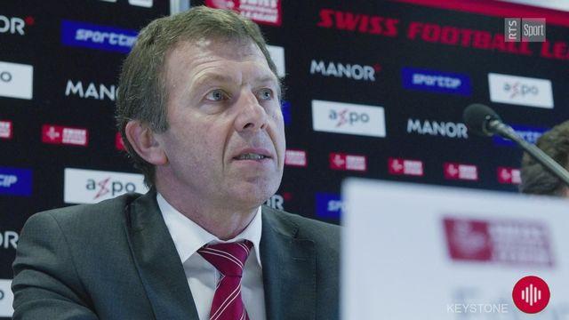 Edmond Isoz, ancien directeur de la Swiss Football League, nous donne quelques pistes [RTS]