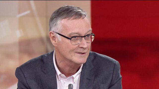 Antoine Flahault, directeur de l'Institut de santé globale à l'Université de Genève. [RTS]