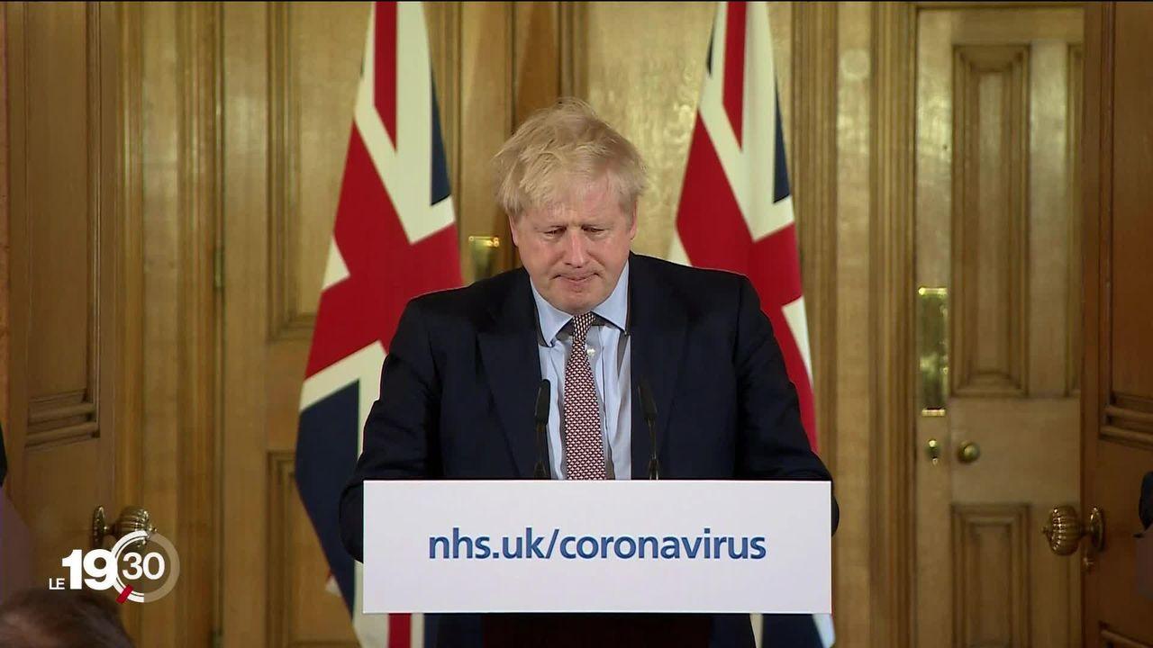 La Grande-Bretagne mise sur une stratégie opposée pour combattre le virus. [RTS]