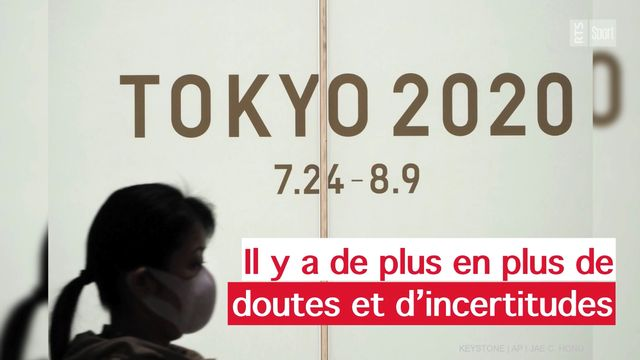 Le CIO et les organisateurs des Jeux Olympiques de Tokyo sont catégoriques cette semaine : les JO démarreront comme prévu le 24 juillet 2020. [Keystone]