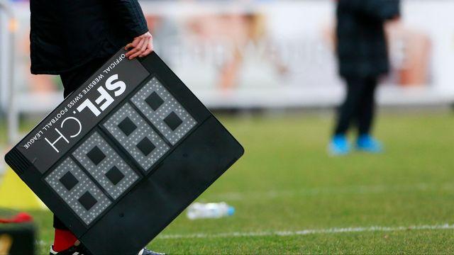 Le football suisse est l'arrêt au moins jusqu'au 30 avril. [Marc Schumacher - Freshfocus]