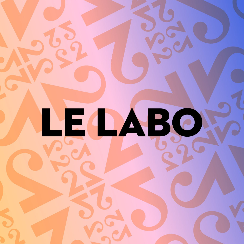 "Logo podcast ""Le labo"". [RTS]"