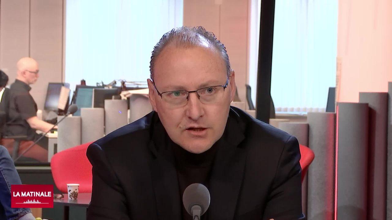 Tristan Gratier, directeur de Pro Senectute Vaud et de l'Association vaudoise d'aide et de soins à domicile (vidéo) [RTS]