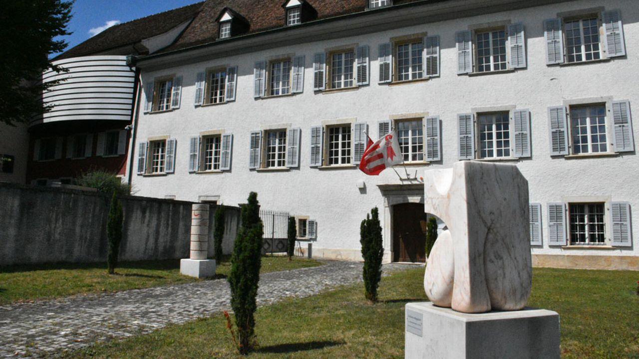 L'Hôtel du Parlement à Delémont. [Gaël Klein  - RTS]