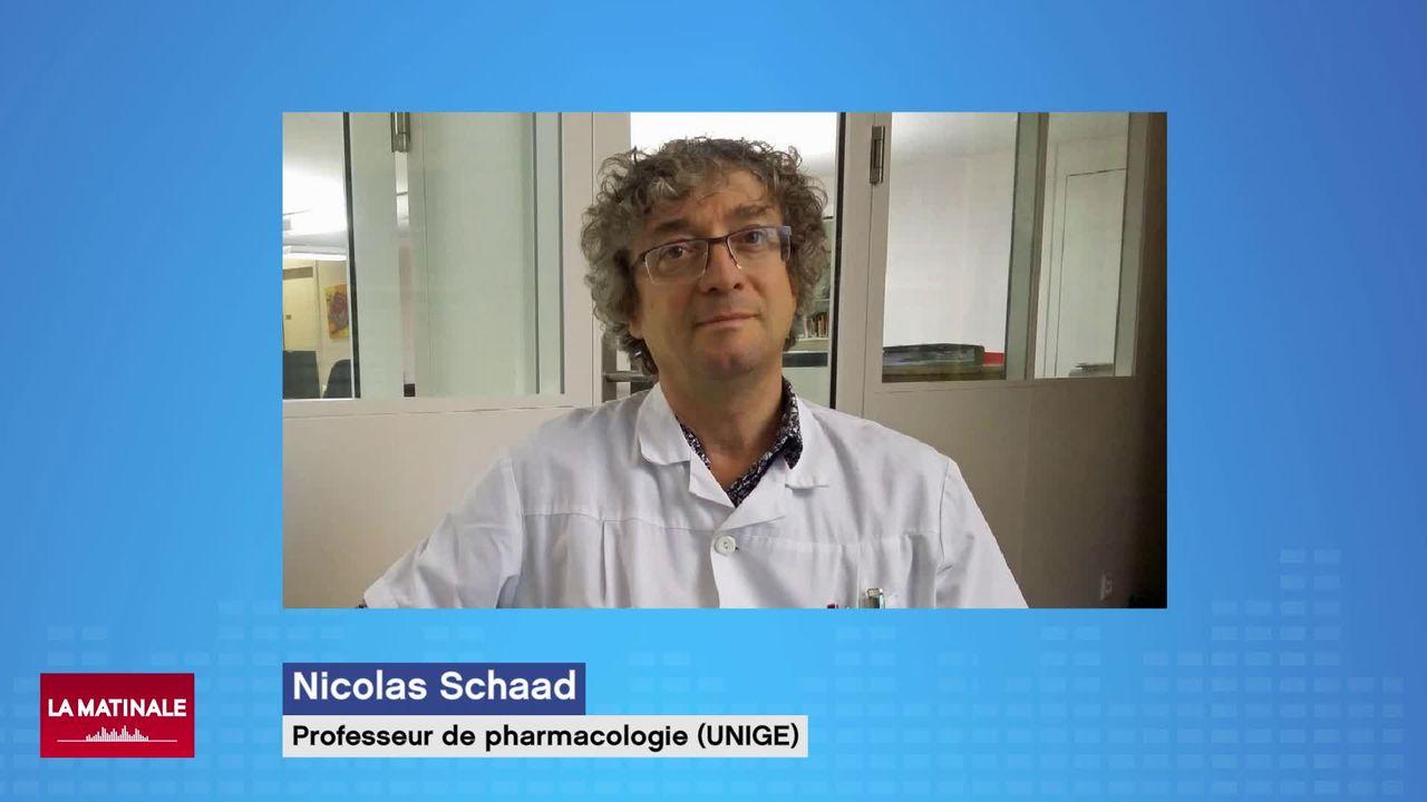 Le rationnement de certains médicaments: interview de Nicolas Schaad (vidéo) [RTS]