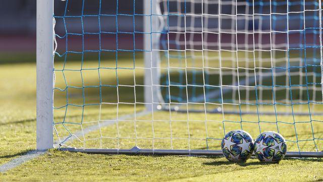 En Suisse, le football est à l'arrêt au moins jusqu'au 30 avril. [Cyril Zingaro - Keystone]