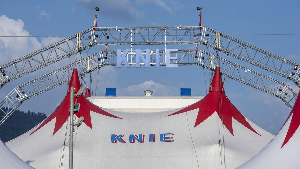 Le cirque Knie. [Christian Beutler - Keystone]