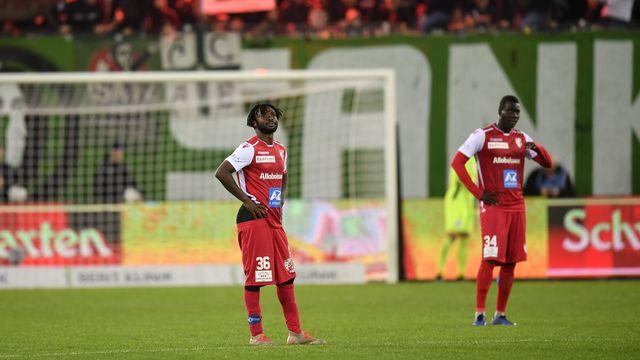 Le capitaine Xavier Kouassi fait partie des 9 joueurs licenciés. [Gian Ehrenzeller - Keystone]