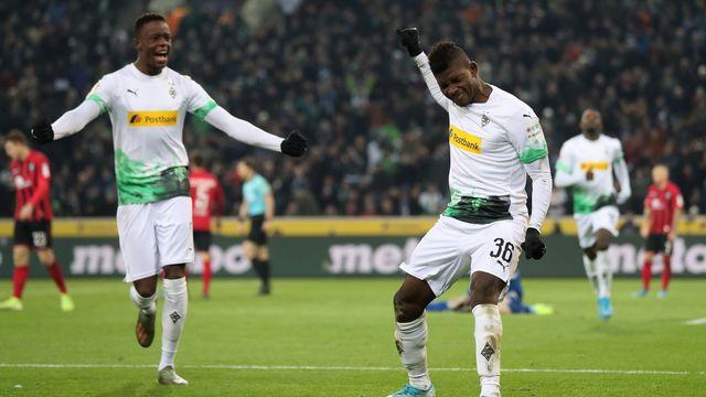 Denis Zakaria et Breel Embolo, notamment, ont décidé de faire un geste pour le Borussia. [Friedemann Vogel - Keystone]