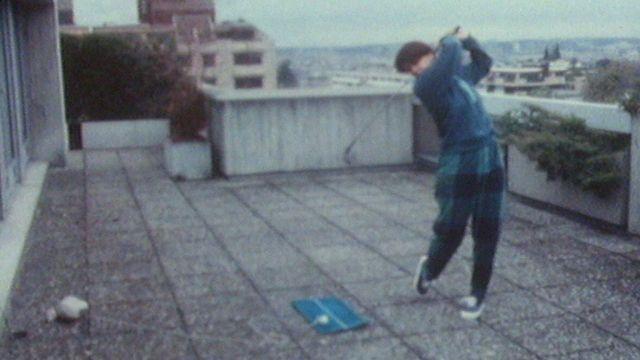 Le golf en balcon [RTS]