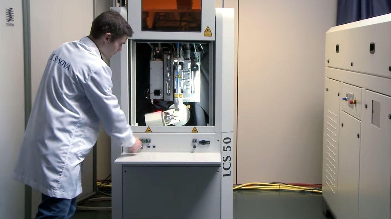 Synova fabrique des machines de haute technologie - laser notamment - pour l'industrie. [Synova/YouTube]