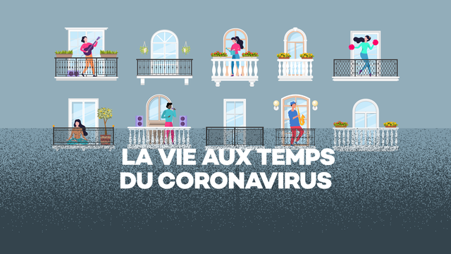 Logo La vie aux temps du coronavirus [RTS]