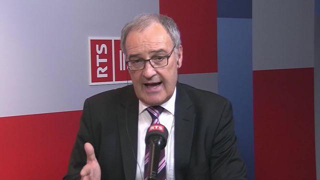 Le Conseil fédéral annonce son paquet économique: interview de Guy Parmelin [RTS]