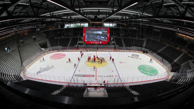 La patinoire de Lausanne est censée accueillir avec celle de Zurich le Mondial de hockey en mai prochain. [Denis Balibouse]