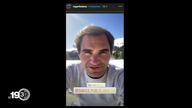 Les sportifs s'engagent, Roger Federer en tête [RTS]
