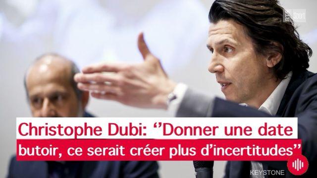 Christophe Dubi: ''donner une date butoir, ce serait créer plus d'incertitudes'' [Keystone]