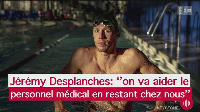 Jérémy Desplanches: ''j'espère que les Jeux seront reportés'' [RTS]