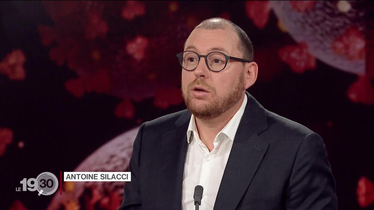 Antoine Silacci présente les mesures de confinement strictes à travers le monde [RTS]