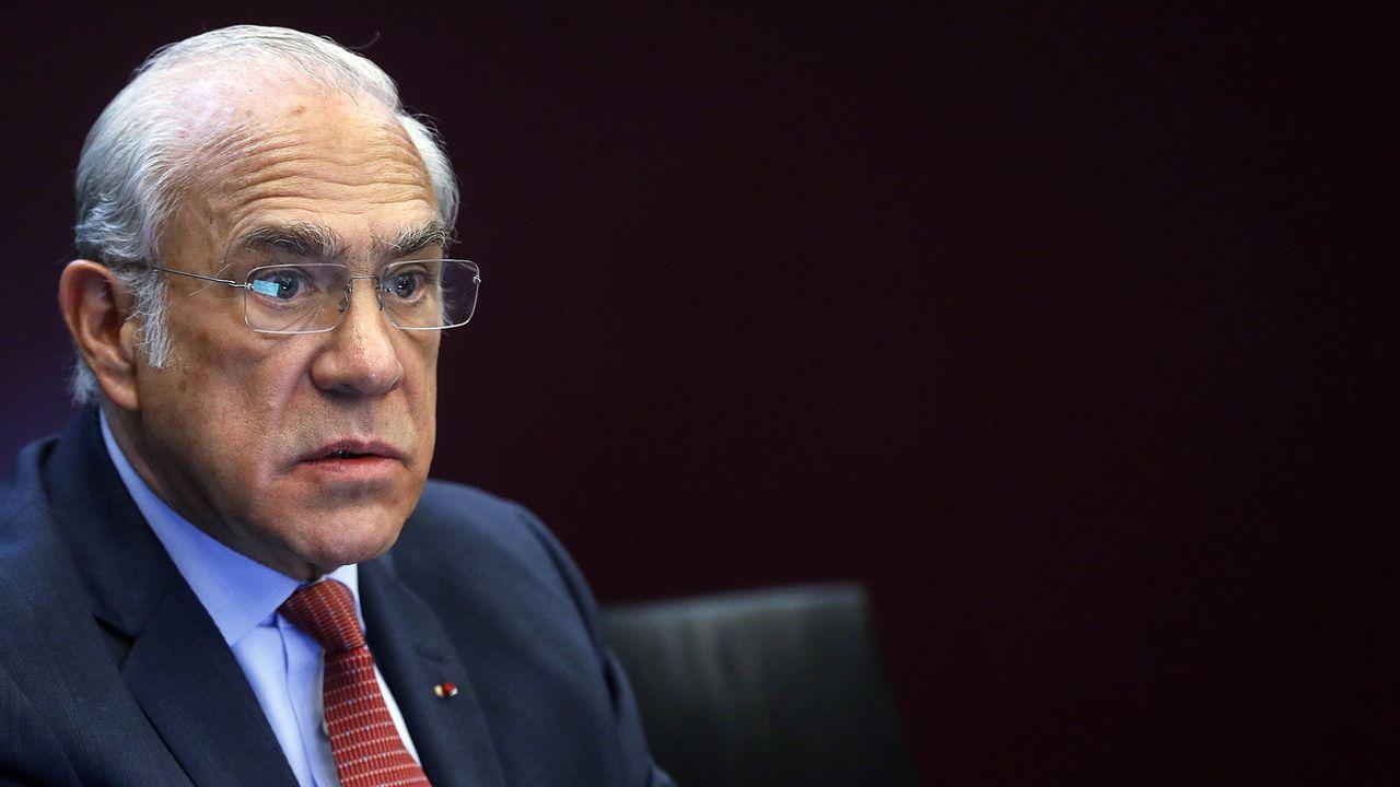 Le secrétaire général de l'OCDE Angel Gurria a averti lundi que les conséquences du Covid-19 sur l'économie seraient durables [Riccardo Antimiani - Keystone/EPA]