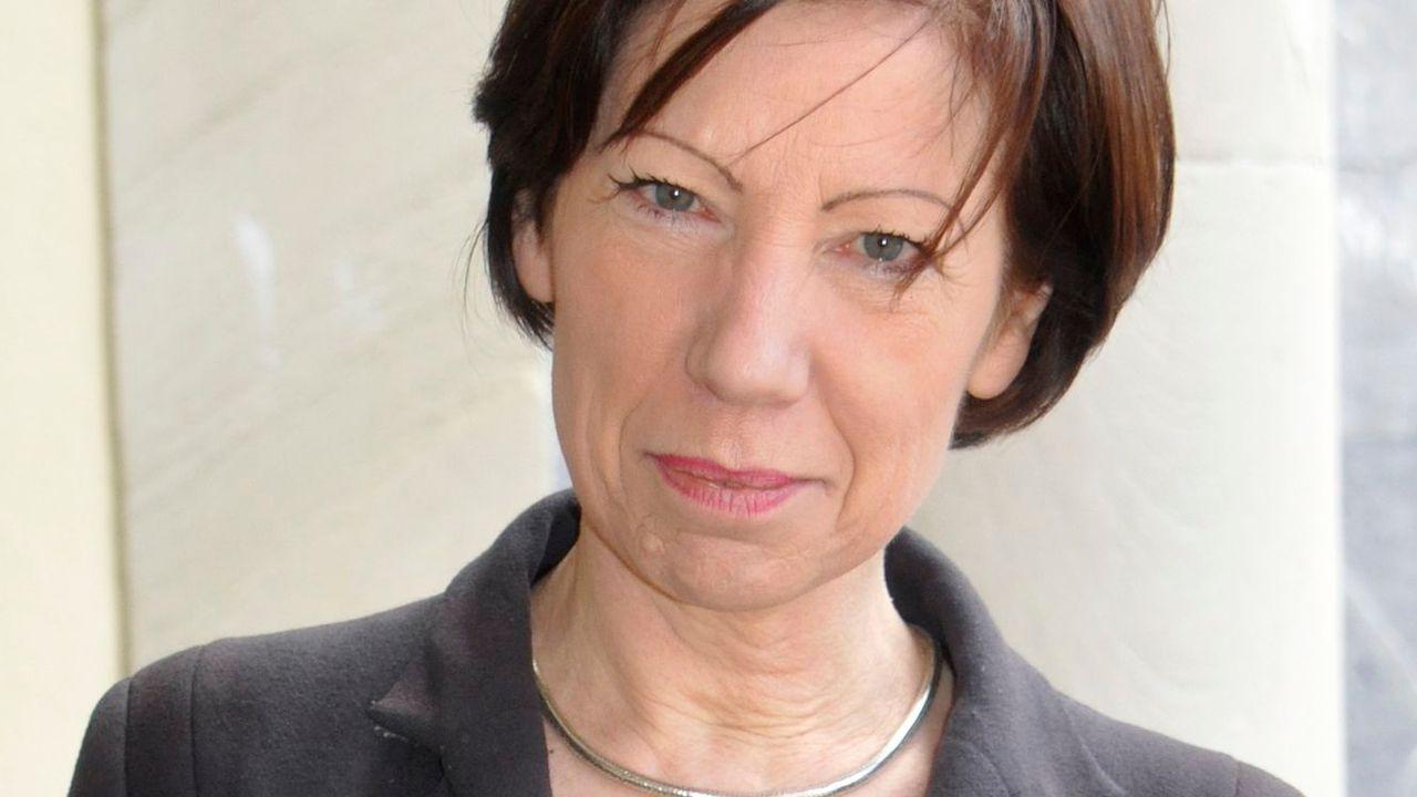 La poète, dramaturge, essayiste et critique Sylviane Dupuis. [Yvonne Böhler - DR]