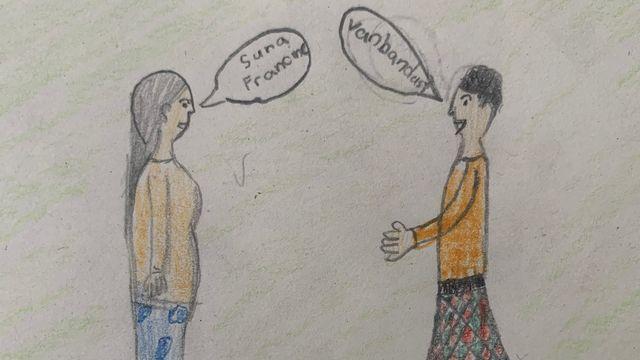 Pourquoi parlons-nous tous des langues différentes? [Eline - RTS]