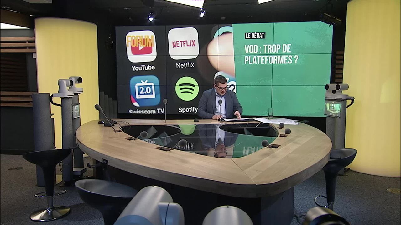 Le grand débat - Quel avenir pour les plateformes de vidéo sur demande? [RTS]